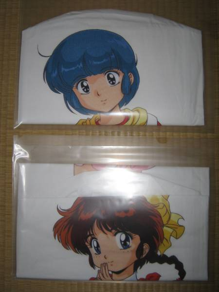 Long pillow covers of Magical girls