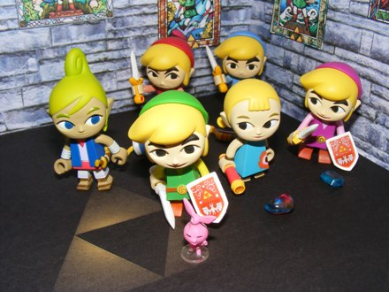 Zelda - Gashapon Four Swords & Windwaker
