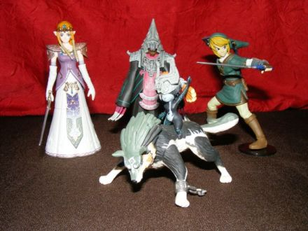 Gashapons Zelda : Twilight Princess