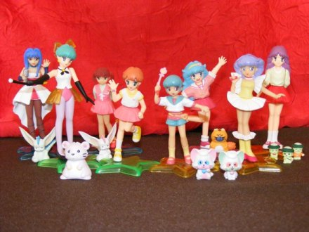 Gashapon Yujin - Magical girls