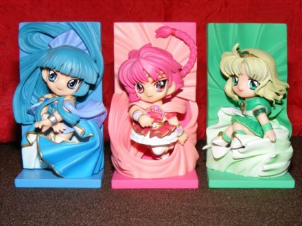 Magic Knight Rayearth - Clamp in 3D Land